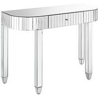 Product photograph showing Phoebe Mirrored Dressing Table