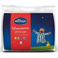 Product photograph showing Silentnight Bounceback Pillow Pair