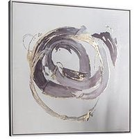 Product photograph showing Gallery Opal Abstract Framed Wall Art