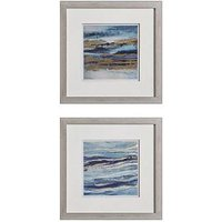 Product photograph showing Gallery Aquarius Framed Wall Art Ndash Set Of 2