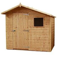 Product photograph showing Mercia 7 X 5ft Offset Apex Shed