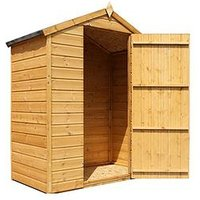 Product photograph showing Mercia 5 X 3ft Shiplap Apex Windowless Shed