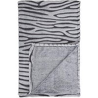 Product photograph showing Zebra Throw