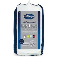 Product photograph showing Silentnight No Cover Needed Washable 13 5 Tog Duvet And Pillow Set