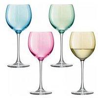 Product photograph showing Lsa International International Polka Wine Glasses Ndash Set Of 4