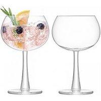 Product photograph showing Lsa International Set Of 2 Gin Balloon Glasses