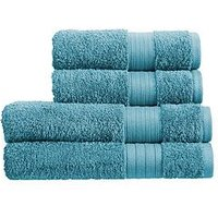 Product photograph showing Christy Monaco 4-piece Towel Bale Ndash Lagoon