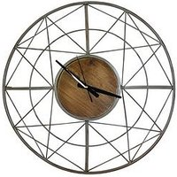 Product photograph showing Arthouse Metal Wall Clock