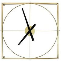Product photograph showing Arthouse Gold Framed Wall Clock