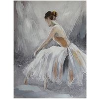 Product photograph showing Arthouse Ballerina Canvas Wall Art