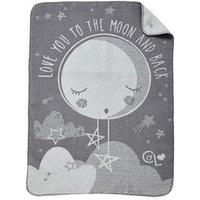 Product photograph showing Clair De Lune Clair De Lune Over The Moon Fleece Blanket