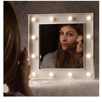 Product photograph showing Hollywood Light Up Mirror