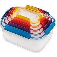 Product photograph showing Joseph Joseph Nest Lock 5-piece Storage Container Set