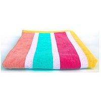 image-Downland Candy Stripe Beach Towel