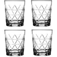 Product photograph showing Ravenhead Entertain Set Of 4 Rum Tumbler Glasses