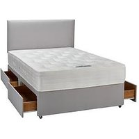 Product photograph showing Sweet Dreams Alice Ortho Divan With Storage Options Excludes Headboard