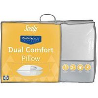 Product photograph showing Sealy Posturepedic Dual Comfort Pillow