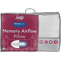 Product photograph showing Sealy Posturepedic Memory Airflow Pillow