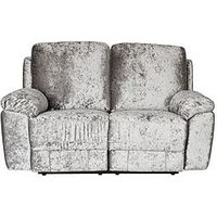 Product photograph showing Castille Fabric 2 Seater Manual Recliner Sofa