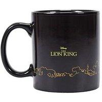 Product photograph showing The Lion King Mug Heat Changing Mufasa Simba