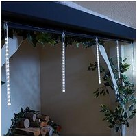 Product photograph showing Set Of 6 Indoor Outdoor Digital Tube Christmas Lights