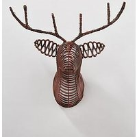 Product photograph showing Reindeer Head Wall-hanging Ornament