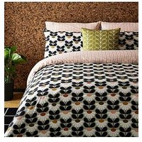 Product photograph showing Orla Kiely House Wild Daisy Duvet Cover