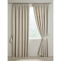 Product photograph showing Berlin Blackout 3inch Curtains 45x54