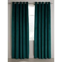 Product photograph showing Thermal Velour Eyelet Curtains