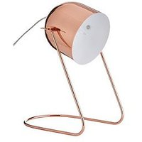 Product photograph showing Eden Metal Desk Lamp - Copper