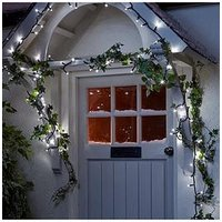 Product photograph showing Noma Connectable String Indoor Outdoor Christmas Lights With 100 White Twinkling Leds