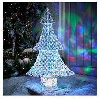 Product photograph showing Noma 65 Cm Jewel Effect Christmas Tree Indoor Outdoor Decoration