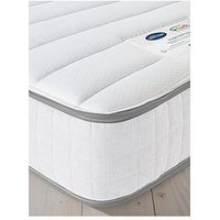 Product photograph showing Silentnight Kids 600 Pocket Eco-friendly Mattress - Small Double - Medium