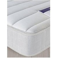Product photograph showing Silentnight Kids Traditional Sprung Eco-friendly Mattress - Small Double - Medium Firm