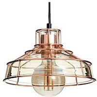 Product photograph showing Cooper Ceiling Light Pendant Fixture