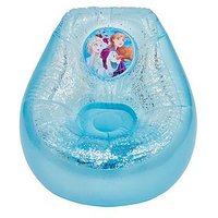 Product photograph showing Disney Frozen Disney Frozen Kids Inflatable Glitter Chill Chair