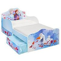 image-Disney Frozen Toddler Bed With Storage Drawers By Hellohome
