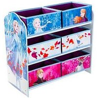 image-Disney Frozen Kids Bedroom Storage Unit With 6 Bins By Hellohome