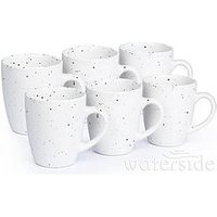 Product photograph showing Waterside Speckled Mugs Ndash Set Of 6