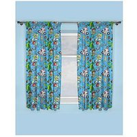 Product photograph showing Toy Story Rescue Pleated Curtains