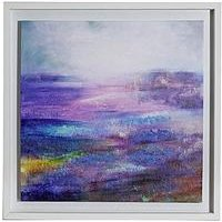 Product photograph showing Arthouse Aquarelle Hand-painted Effect Framed Canvas