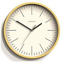 Product photograph showing Jones Clocks Spartacus Wall Clock