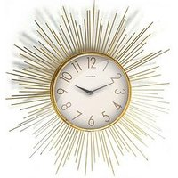Product photograph showing Star Burst Wall Clock