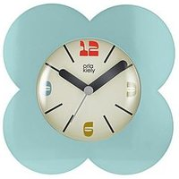 Product photograph showing Orla Kiely House Flower Alarm Clock