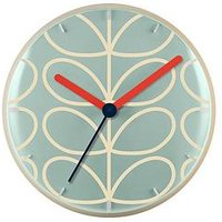 Product photograph showing Orla Kiely House Linear Stem Wall Clock