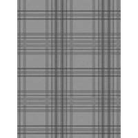 Product photograph showing Superfresco Easy Country Tartan Charcoal Wallpaper