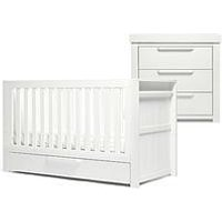 image-Mamas & Papas Franklin Cot Bed, Dresser Changer And Wardrobe