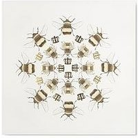 Product photograph showing Graham Brown Beautiful Bees Canvas With Metallic
