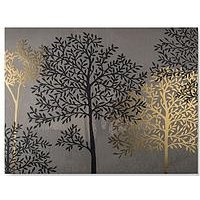 Product photograph showing Graham Brown Eternal Woodland Canvas With Metallic Glitter