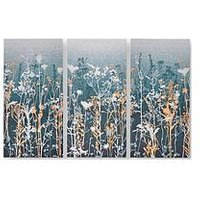 Product photograph showing Graham Brown Wildflower Meadow Canvas With Metallic